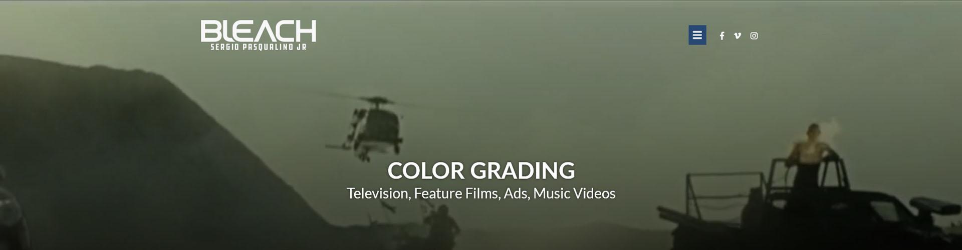 Case de sucesso: criação de site para a Bleach Color Grading
